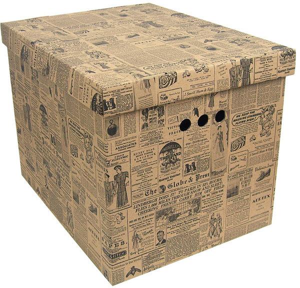 aufbewahrungsbox deckel deko karton pappe mehrzweckbox. Black Bedroom Furniture Sets. Home Design Ideas
